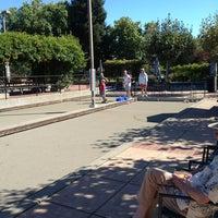 Photo taken at San Rafael Bocce Courts by Kari S. on 9/8/2013