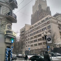 Photo taken at Район «Арбат» by Boris B. on 12/6/2017