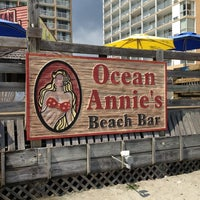 Photo taken at Ocean Annie's Beach Bar by Lissette C. on 9/3/2013