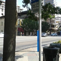 Photo taken at Bus Stop 514 - 3rd & Congress by nicole p. on 8/8/2013