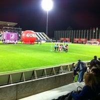 Photo taken at Estádio da Madeira by Ivo S. on 1/12/2013