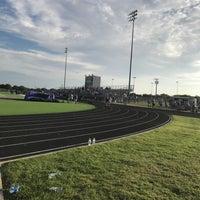 Photo taken at Anna High School Stadium by Shawn L. on 8/18/2017