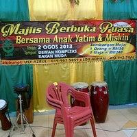 Photo taken at Dewan Besar Kompleks Rakan Muda,Besut by Zahirah D. on 8/2/2013