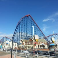 Photo taken at Blackpool Pleasure Beach by Richard F. on 9/14/2013
