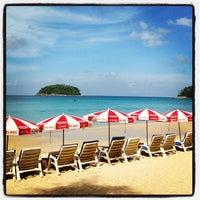 Photo taken at Kata Beach by 8le S. on 10/27/2012