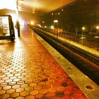 Photo taken at Braddock Road Metro Station by Russell B. on 12/10/2012