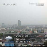 Photo taken at P.S.T. Condoville Tower 1 by Kriangkrai S. on 3/22/2014