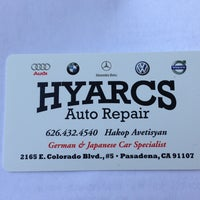 Photo taken at Hyarcs Auto Repair by Cellgogo.com on 7/25/2013