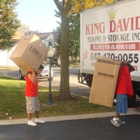 Photo taken at King David Moving & Storage by Martin on 3/11/2014