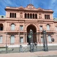 Foto tirada no(a) Casa Rosada por Ahora H. em 12/1/2012