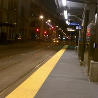 Photo taken at Nicollet Mall LRT Station by Neecie on 5/13/2013