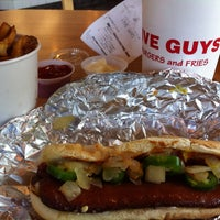 Photo taken at Five Guys by Ian F. on 4/19/2013
