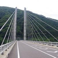 Photo taken at 奥いび湖大橋 by KS999 on 7/20/2013