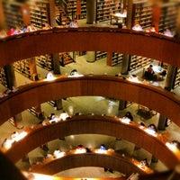Photo taken at Biblioteca Central de la UNED by Carlos C. on 1/26/2013