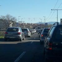 Photo taken at Панаирен мост (Plovdiv Fair bridge) by Sezer I. on 3/29/2017