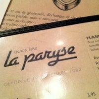 Photo taken at La Paryse by Martin L. on 10/26/2012