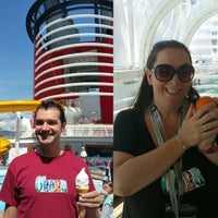 Photo taken at Disney Wonder by Miss Courtney G. on 5/30/2016