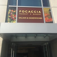 Photo taken at Focaccia Café and Bakery by Drake D. on 10/30/2015