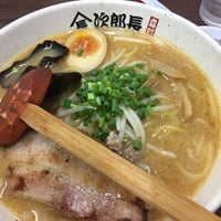 Photo taken at ラーメン次郎長 by Saori T. on 8/28/2017