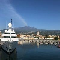 Photo taken at Porto dell'Etna - Marina di Riposto by Emilia on 6/9/2017