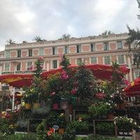 Photo taken at Marché de la condamine, Monaco by Emilia on 7/29/2017