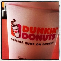 Photo taken at Dunkin' Donuts by Vincent C. on 11/7/2012