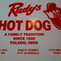 Photo taken at Rudys Hot Dogs by Joey B. on 12/26/2012