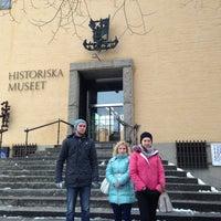 Photo taken at Historiska Museet by Anna T. on 1/9/2013