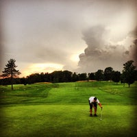 Photo taken at Candia Woods Golf Links by Mike G. on 7/8/2013