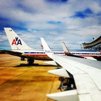 Photo taken at Dallas Fort Worth International Airport (DFW) by Mike G. on 10/16/2013