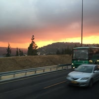 Photo taken at Road NO. 1 Jerusalem-Tel Aviv by Tatiana C. on 1/18/2015
