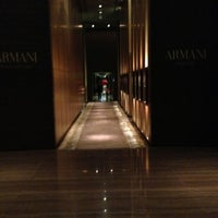 Photo taken at Armani Hotel Dubai by Kirill P. on 1/4/2013