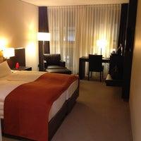 Photo taken at Atlantic Grand Hotel Bremen by Kirill P. on 1/17/2013