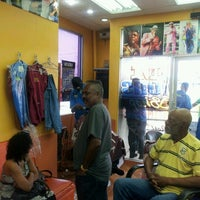 Photo taken at Boom Champions Barber Salon by Nicola B. on 11/16/2012