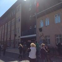 Photo taken at Ahmet Hamdi Tanpınar İlköğretim Okulu by Büşra D. on 3/30/2014