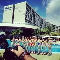Photo taken at Pestana Casino Park by Alexandre P. on 3/22/2013