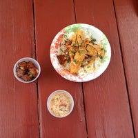 Photo taken at Lana'i Ohana Poke Market by Kim H. on 9/5/2013