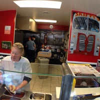 Photo taken at Skippy's Classic Hot Dogs by Cathleen G. on 3/15/2014