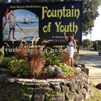 Photo taken at The Fountain Of Youth Archaeological Park by Shannon S. on 11/11/2012