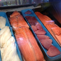 Photo taken at Gibby's Seafood Market by ANNE C. on 10/6/2012