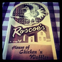 Photo taken at Roscoe's House of Chicken and Waffles by Rocky R. on 3/13/2013