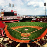 Photo taken at Great American Ball Park by Rocky R. on 9/8/2013