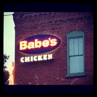 Photo taken at Babe's Chicken Dinner House by James P. on 9/30/2012
