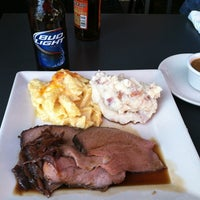 Photo taken at Lawry's Carvery by Rachel R. on 3/2/2013
