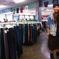 Photo taken at Buffalo Exchange by Lalena K. on 4/13/2013