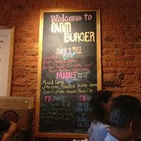 Photo taken at Farm Burger by Kristin W. on 8/9/2013