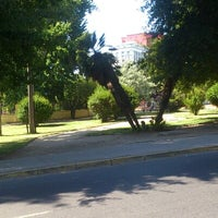 Photo taken at Parque Portales by gogo c. on 1/11/2013
