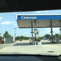 Photo taken at Chevron by Candi M. on 7/23/2013