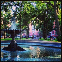Photo taken at Franklin Square Park by Shilpa P. on 8/13/2013