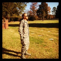 Photo taken at Poplar Grove National Cemetary by Raleigh R. on 11/14/2012